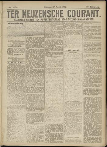 Ter Neuzensche Courant. Algemeen Nieuws- en Advertentieblad voor Zeeuwsch-Vlaanderen / Neuzensche Courant ... (idem) / (Algemeen) nieuws en advertentieblad voor Zeeuwsch-Vlaanderen 1920-04-27
