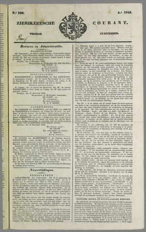 Zierikzeesche Courant 1844-12-13