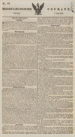 Middelburgsche Courant 1834-06-07