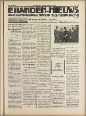 Eilanden-nieuws. Christelijk streekblad op gereformeerde grondslag 1940-09-21