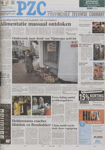 Provinciale Zeeuwse Courant 2005-11-17
