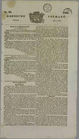 Goessche Courant 1839-04-08
