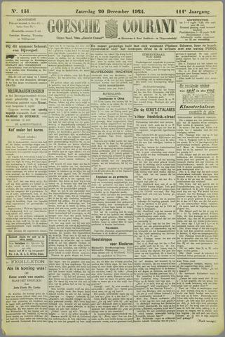 Goessche Courant 1924-12-20