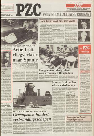 Provinciale Zeeuwse Courant 1987-08-24