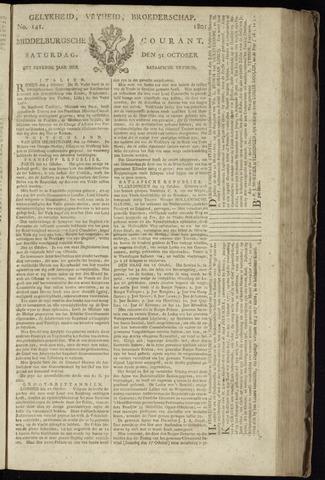 Middelburgsche Courant 1801-10-31