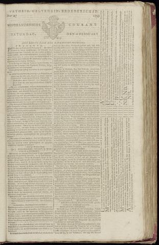 Middelburgsche Courant 1795-02-21