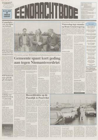 Eendrachtbode (1945-heden)/Mededeelingenblad voor het eiland Tholen (1944/45) 1999-04-08