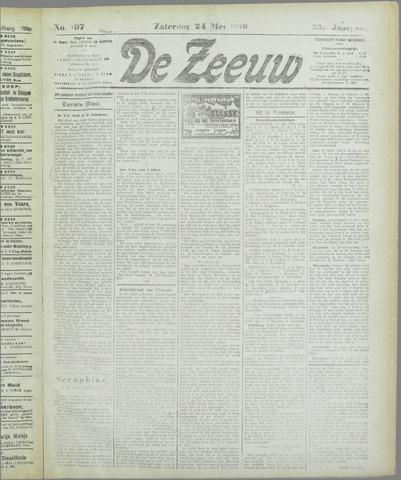 De Zeeuw. Christelijk-historisch nieuwsblad voor Zeeland 1919-05-24
