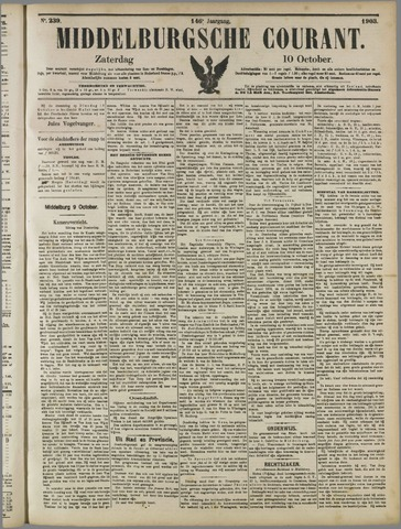 Middelburgsche Courant 1903-10-10