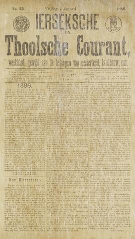 Ierseksche en Thoolsche Courant 1886