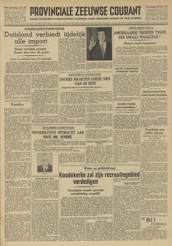 Provinciale Zeeuwse Courant 1951-02-28