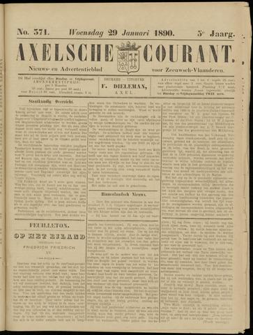 Axelsche Courant 1890-01-29