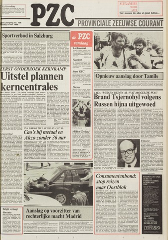 Provinciale Zeeuwse Courant 1986-05-09
