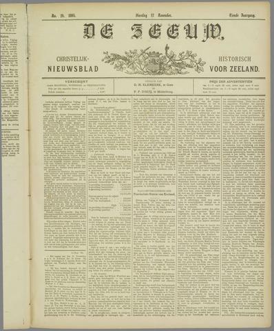 De Zeeuw. Christelijk-historisch nieuwsblad voor Zeeland 1895-11-12