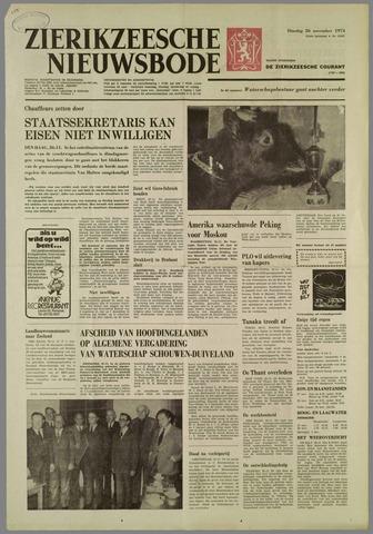 Zierikzeesche Nieuwsbode 1974-11-26