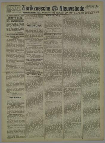 Zierikzeesche Nieuwsbode 1923-05-16