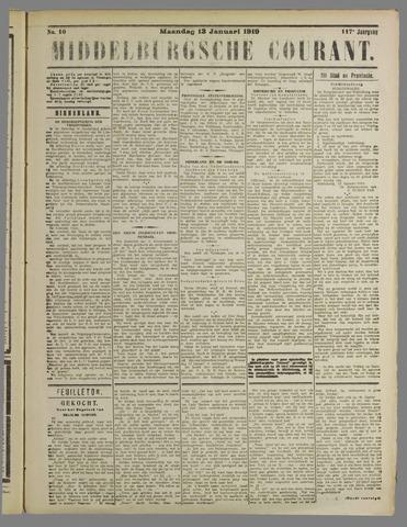 Middelburgsche Courant 1919-01-13