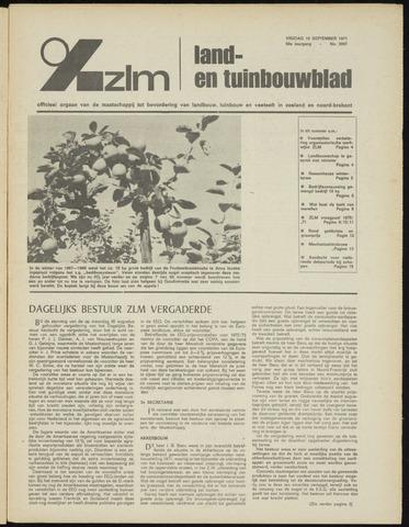 Zeeuwsch landbouwblad ... ZLM land- en tuinbouwblad 1971-09-10