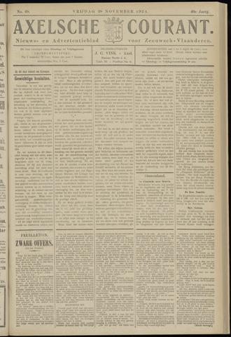 Axelsche Courant 1924-11-28