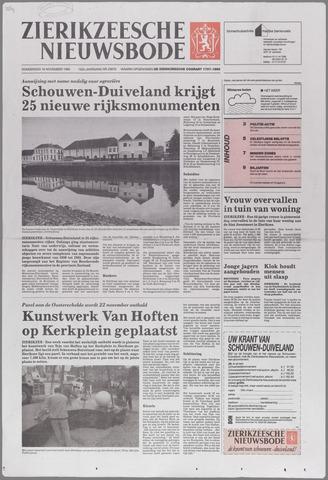Zierikzeesche Nieuwsbode 1995-11-16