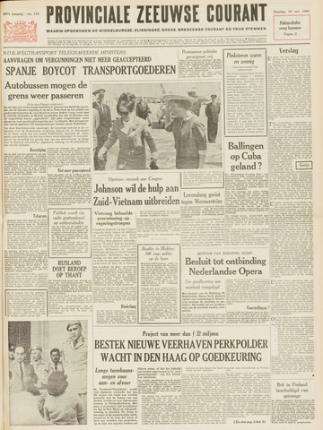Provinciale Zeeuwse Courant 1964-05-16