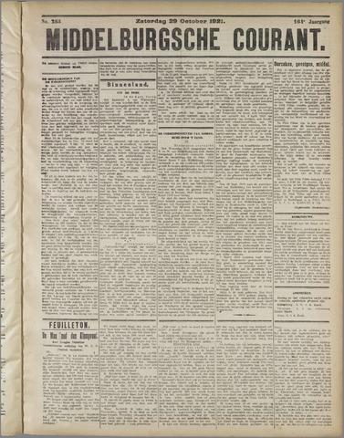 Middelburgsche Courant 1921-10-29