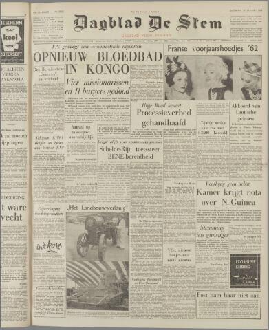 de Stem 1962-01-20