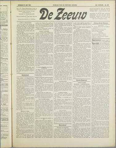 De Zeeuw. Christelijk-historisch nieuwsblad voor Zeeland 1934-05-16