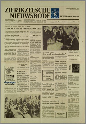 Zierikzeesche Nieuwsbode 1972-09-05