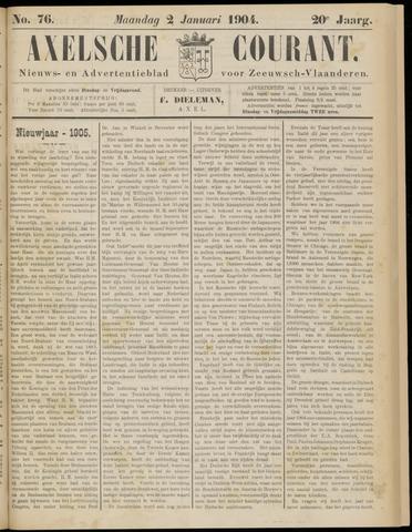Axelsche Courant 1905