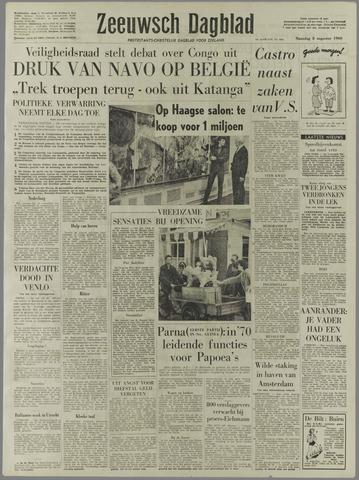 Zeeuwsch Dagblad 1960-08-08