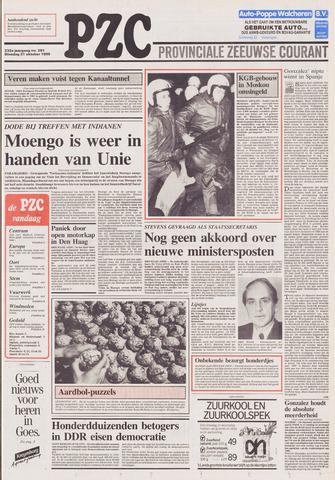 Provinciale Zeeuwse Courant 1989-10-31