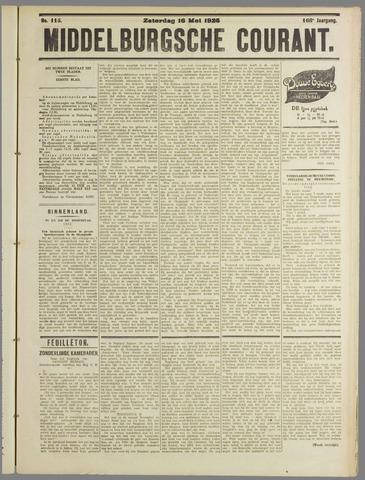Middelburgsche Courant 1925-05-16