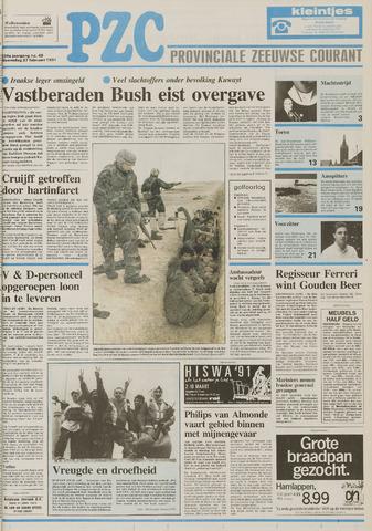 Provinciale Zeeuwse Courant 1991-02-27