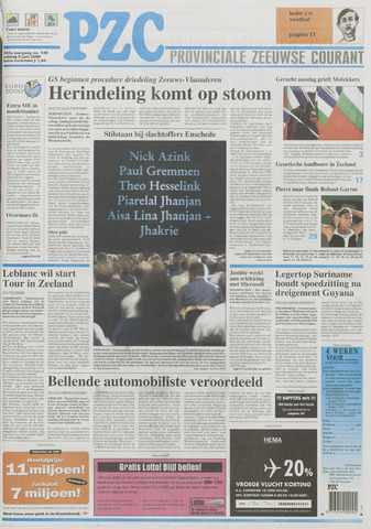 Provinciale Zeeuwse Courant 2000-06-09