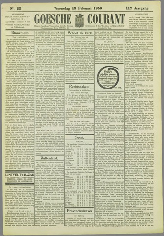 Goessche Courant 1930-02-19