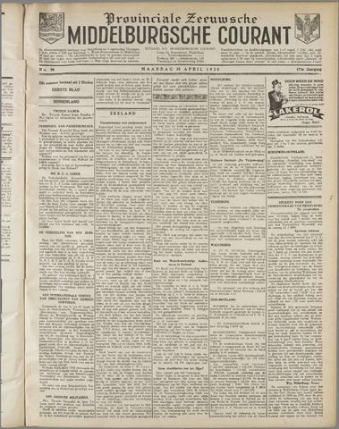 Middelburgsche Courant 1930-04-28