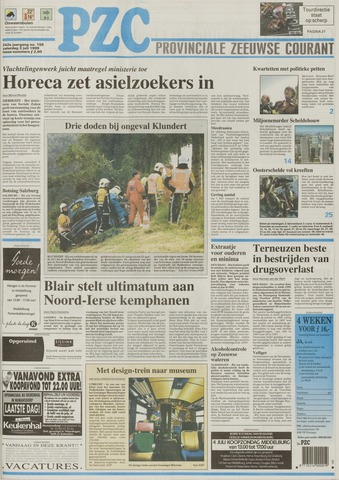Provinciale Zeeuwse Courant 1999-07-03
