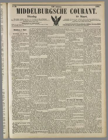 Middelburgsche Courant 1903-03-10