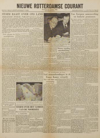 Watersnood documentatie 1953 - kranten 1954-12-22