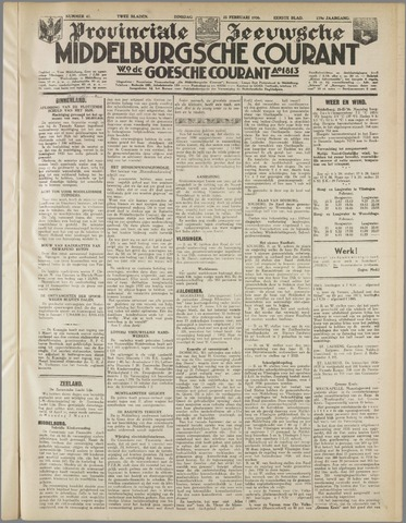 Middelburgsche Courant 1936-02-25