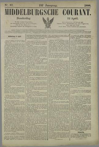 Middelburgsche Courant 1888-04-12
