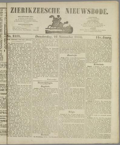 Zierikzeesche Nieuwsbode 1854-11-16