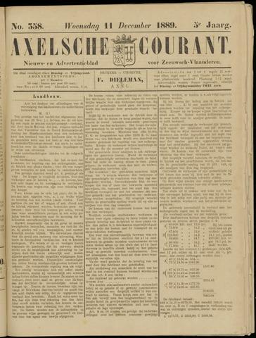 Axelsche Courant 1889-12-11