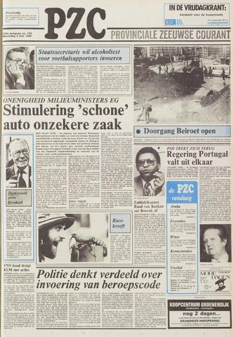 Provinciale Zeeuwse Courant 1985-06-05