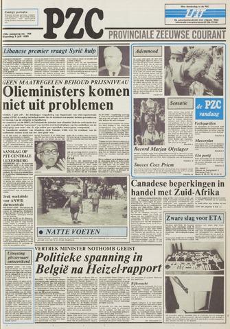 Provinciale Zeeuwse Courant 1985-07-08