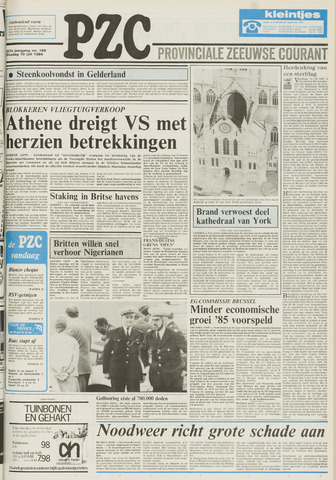 Provinciale Zeeuwse Courant 1984-07-10
