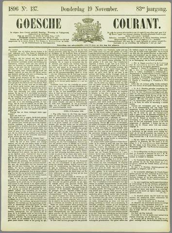 Goessche Courant 1896-11-19