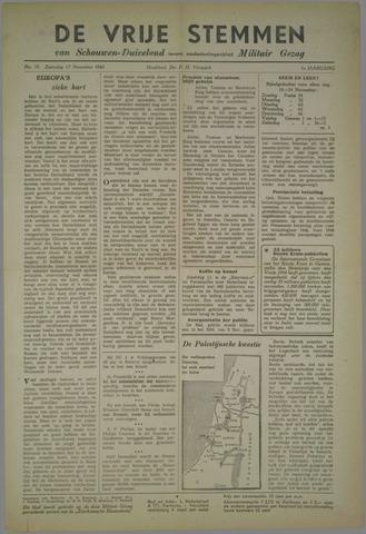 Vrije Stemmen van Schouwen-Duiveland, tevens mededeelingenblad Militair Gezag 1945-11-17