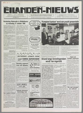 Eilanden-nieuws. Christelijk streekblad op gereformeerde grondslag 1990-10-26